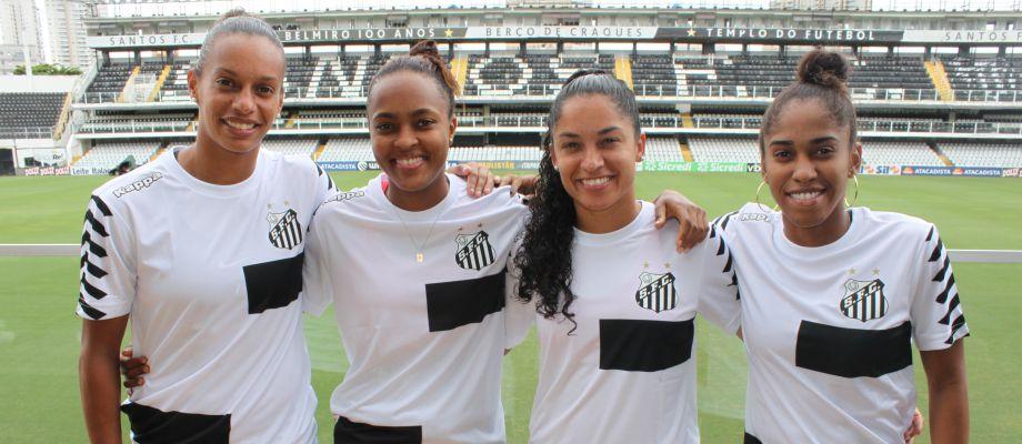 Santos time feminino reforços
