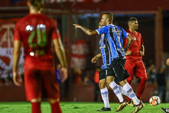 Grêmio x Independiente Luan