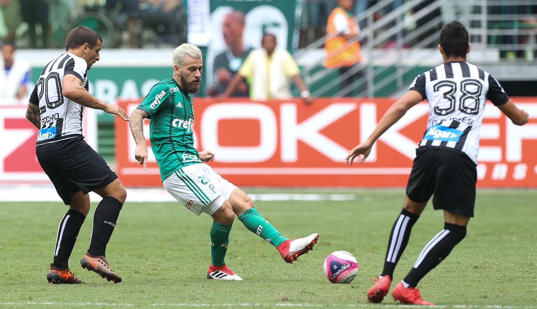 Lucas Lima em Santos x Palmeiras
