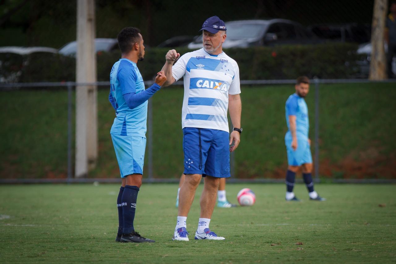 Cruzeiro x Palmeiras escalação