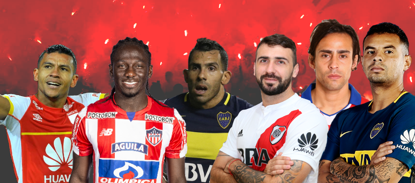Confira 20 jogadores estrangeiros que podem complicar a vida dos brasileiros na Libertadores em 2018