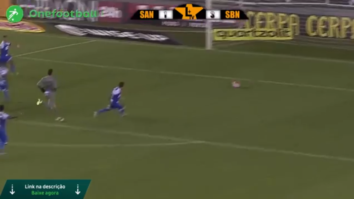 Santos x São Bento: lances derrota Peixe