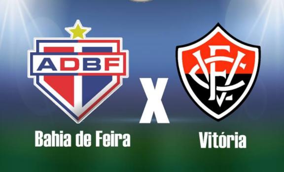 Bahia de Feira x Vitória: acompanhe o jogo AO VIVO em tempo real