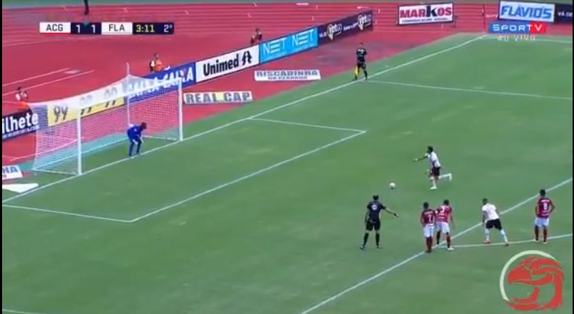 Atlético-GO x Flamengo gols