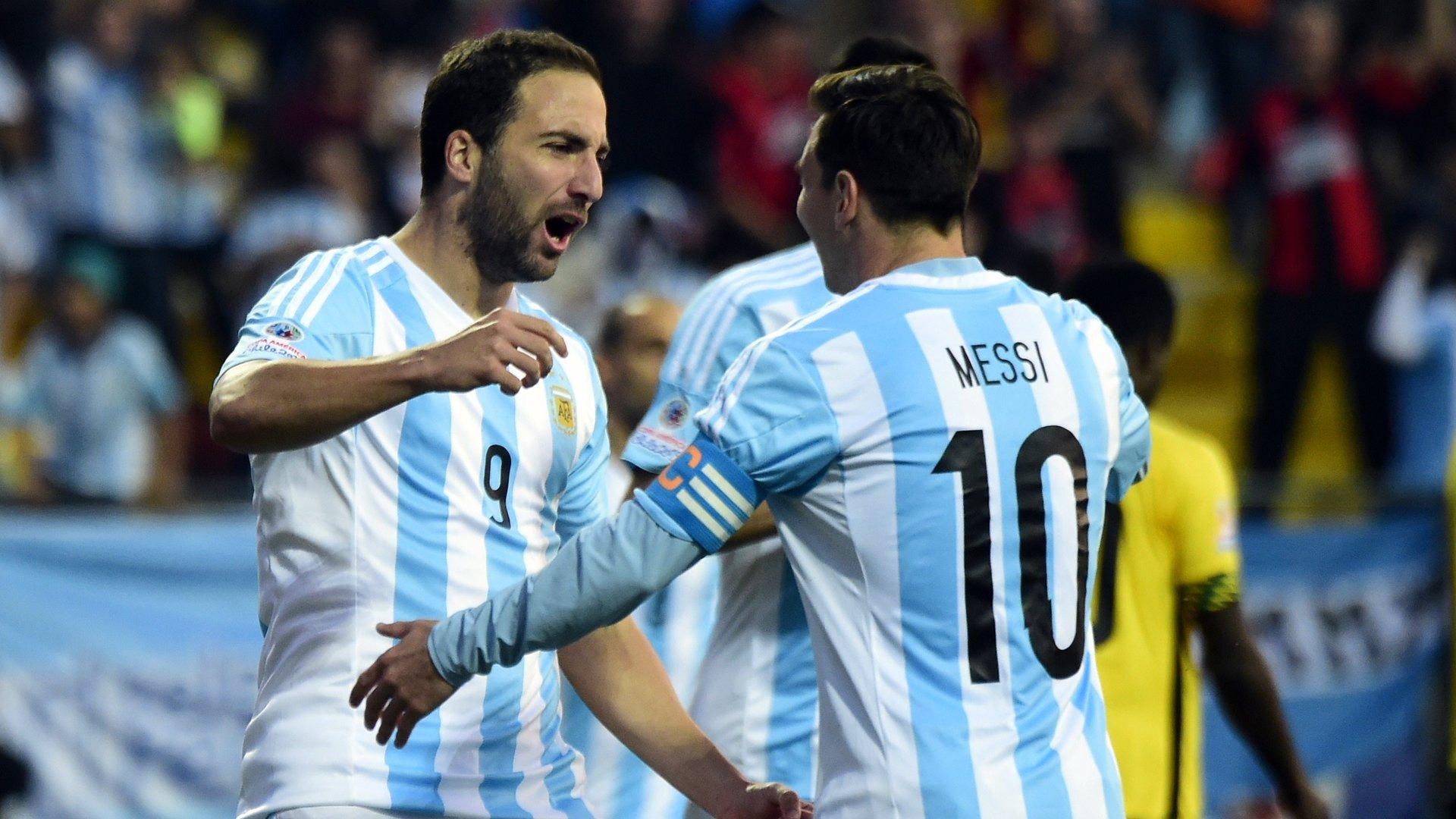 Argentina torneio a