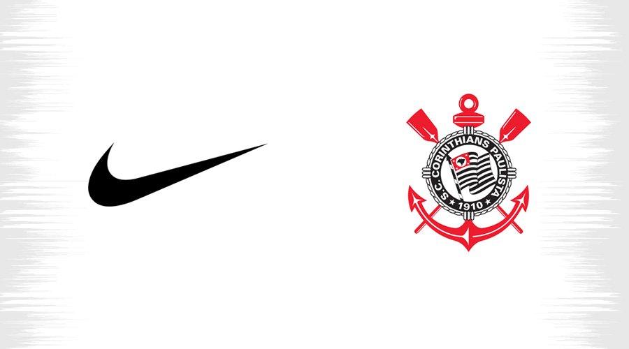 Nova camisa do Corinthians e Nike