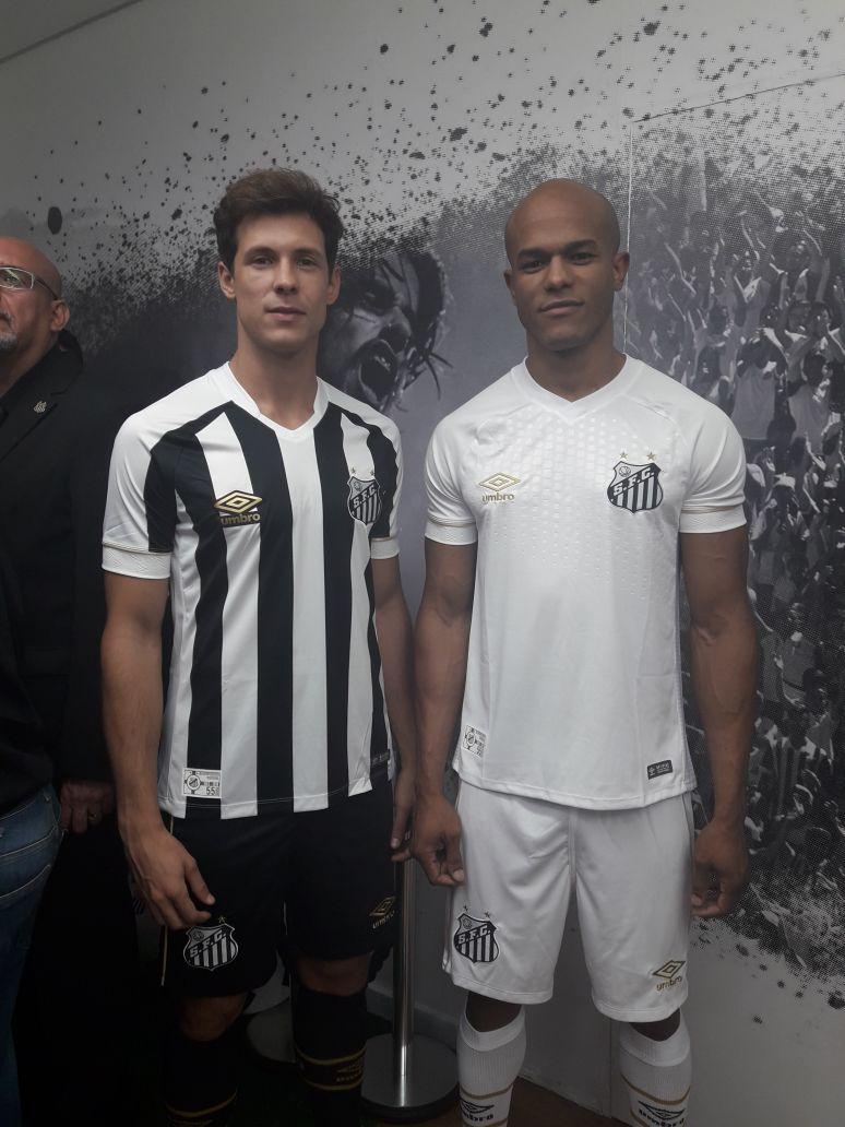 b2b762e8c7fe7 Santos apresenta novo uniforme | Torcedores.com