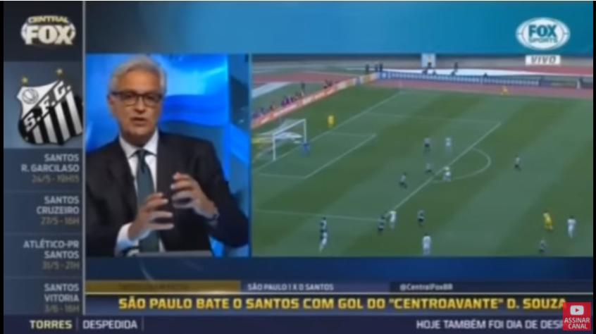 Veja como foi analisado a derrota do Santos