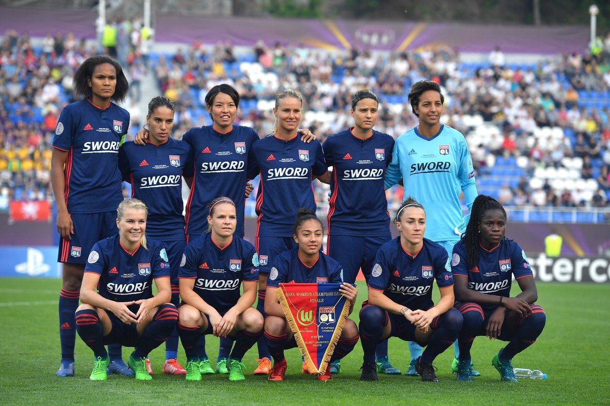 Lyon Liga dos Campeões Feminina