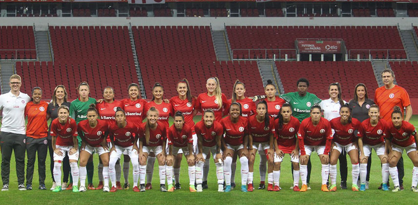 time-feminino-do- Internacional -Campeonato-Brasileiro-Feminino-Série-A2