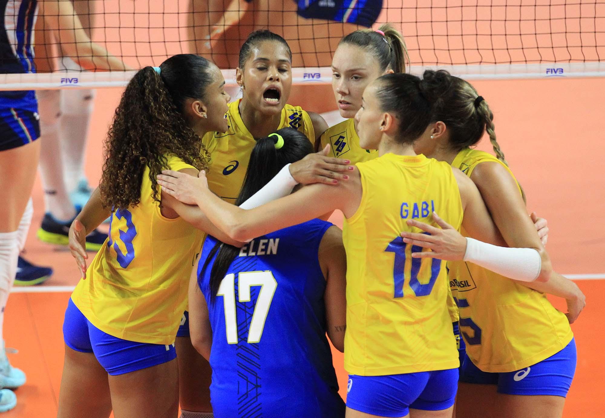 Seleção do Brasil de vôlei feminino