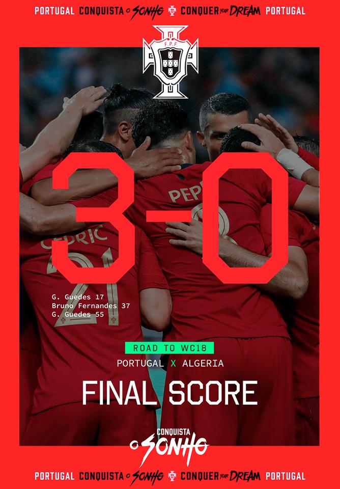Portugal x Argélia
