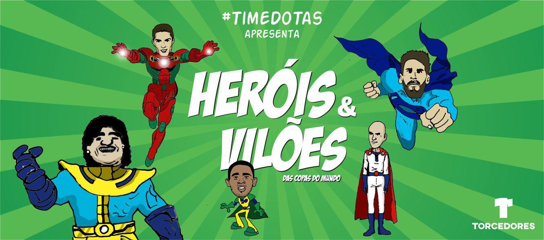 heróis vilões copa do mundo 2018 russia desenhos super-heróis