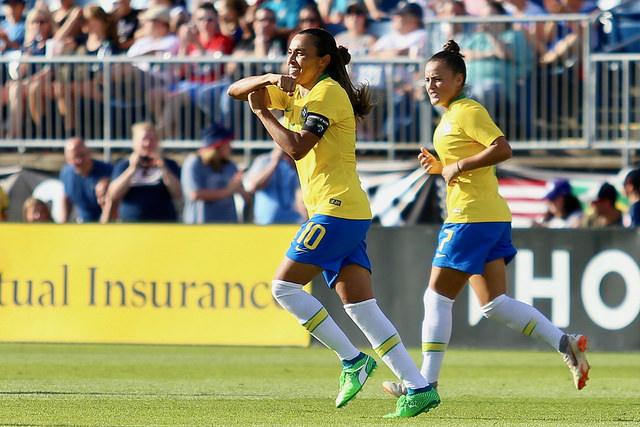 Brasil Seleção Brasileira Feminina Marta
