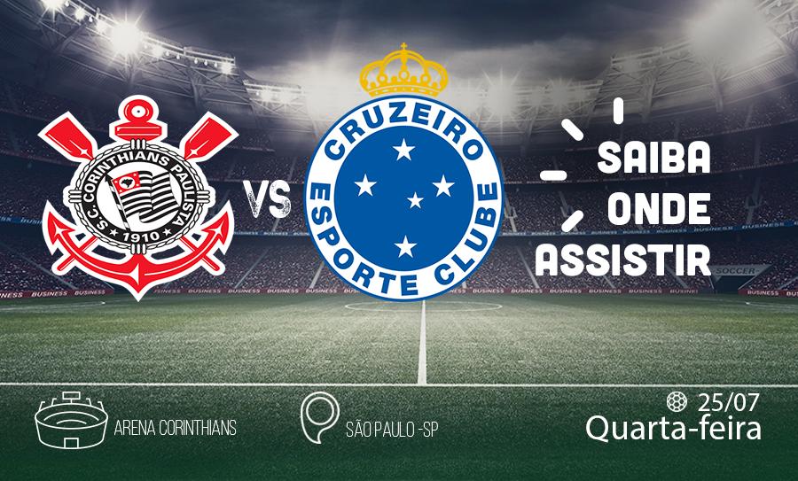 Corinthians X Cruzeiro Saiba Como Assistir Ao Jogo Ao Vivo