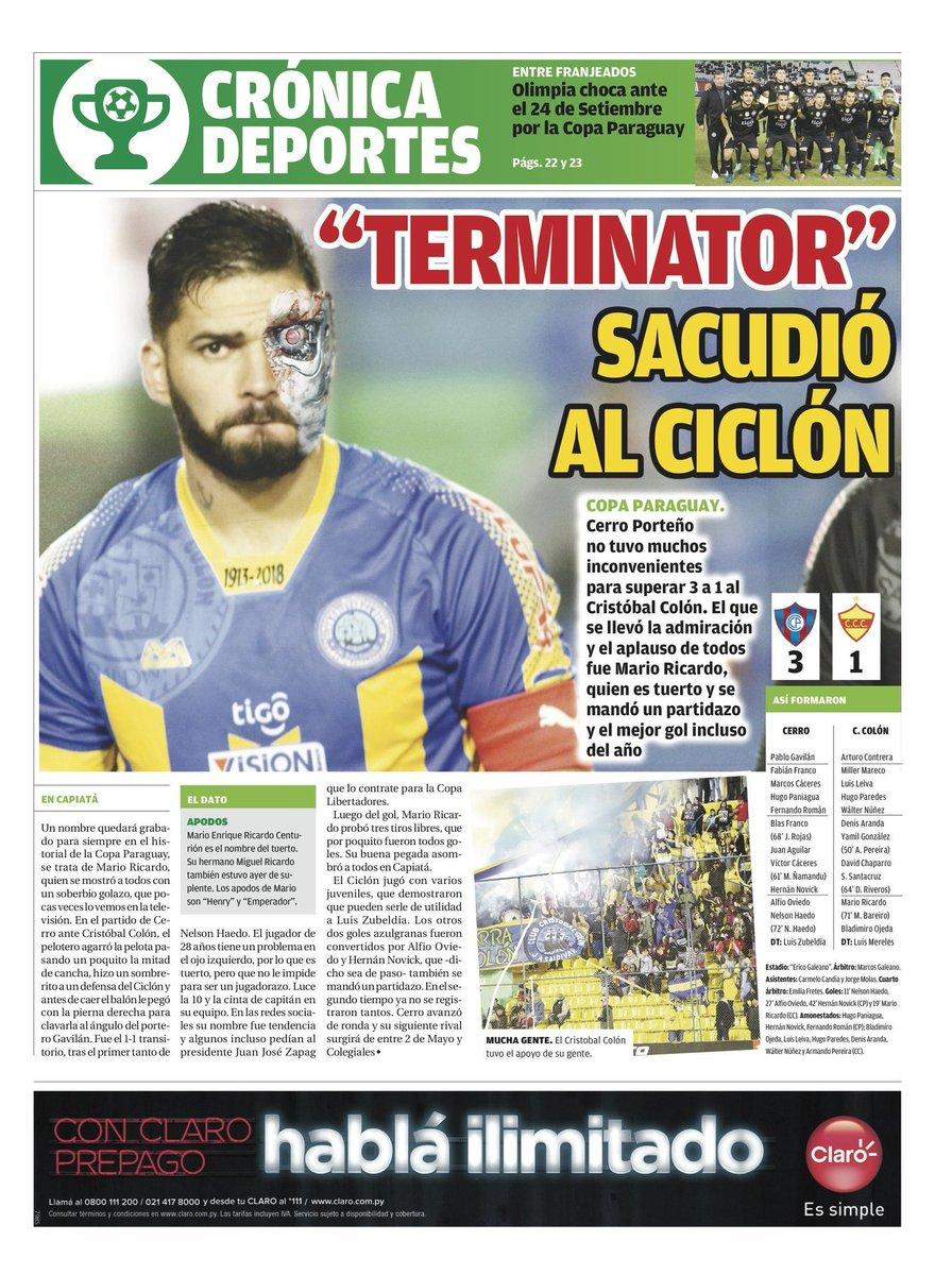 Mario Ricardo virou destaque no Paraguai após marcar um golaço mesmo sendo cego de um olho. O gol é digno de Puskás.