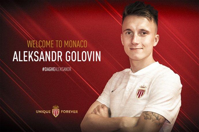 Golovin chega ao Monaco após ser disputado por grandes clubes da Europa.