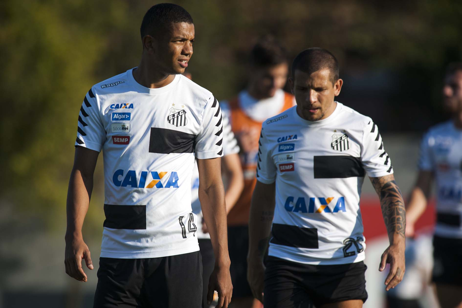 Santos jogadores emprestados