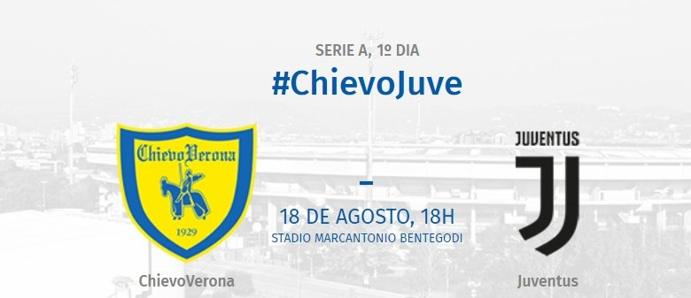 Chievo Verona x Juventus