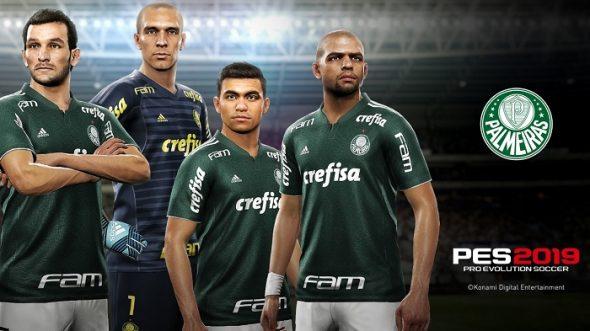 PES 2019: veja quem são os jogadores mais caros do Palmeiras no game