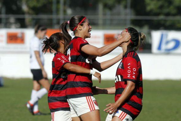Corinthians e Flamengo Flamengo e Corinthians feminino Brasileiro Feminino Brasileirão Feminino