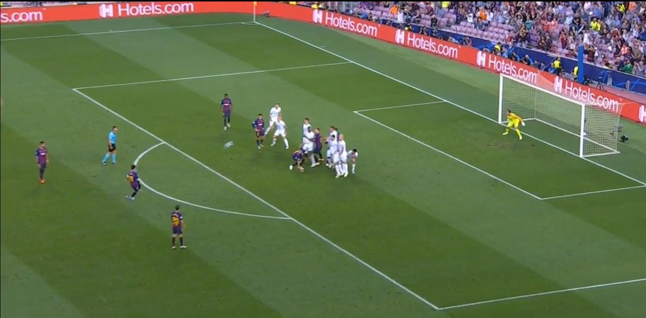 Barcelona x PSV Messi