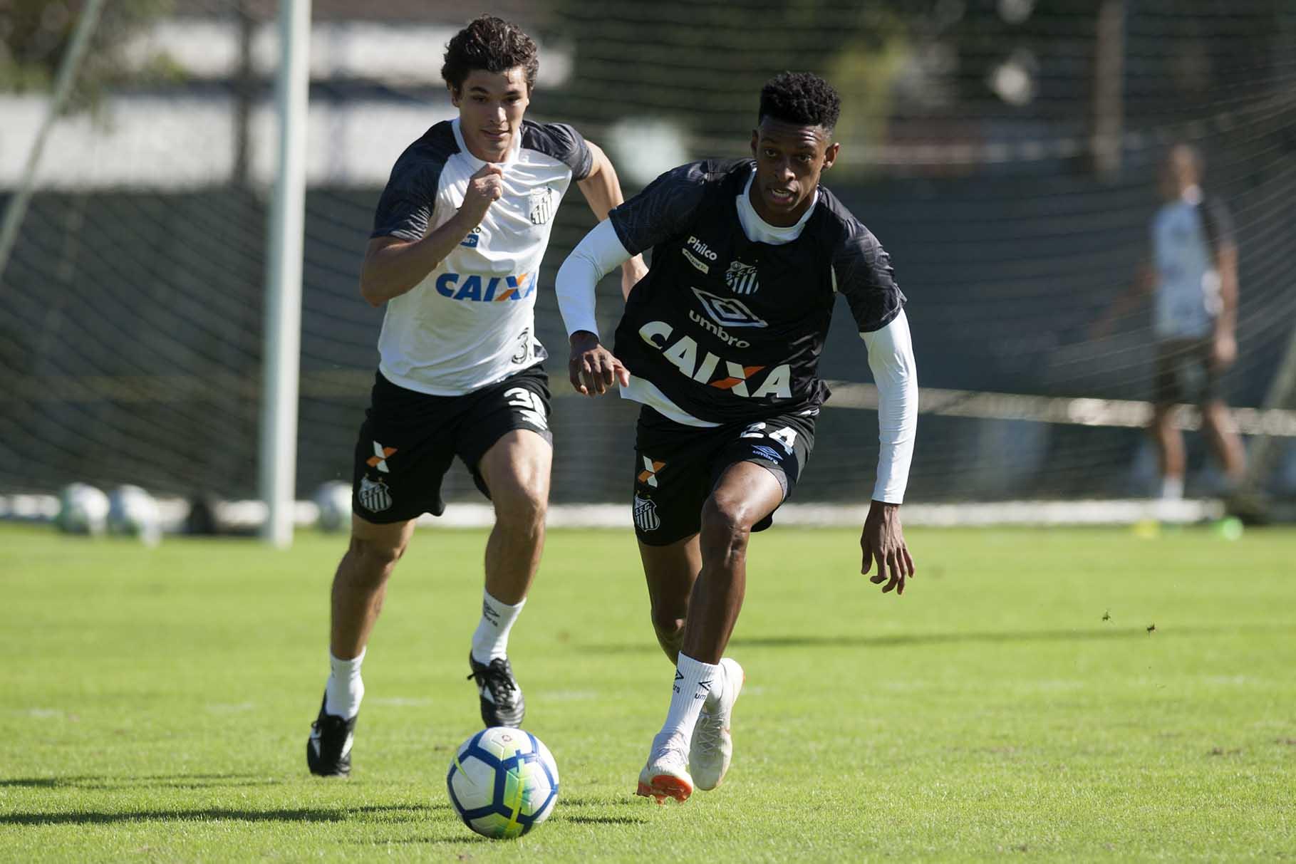Jogadores em fim de contrato com o Santos