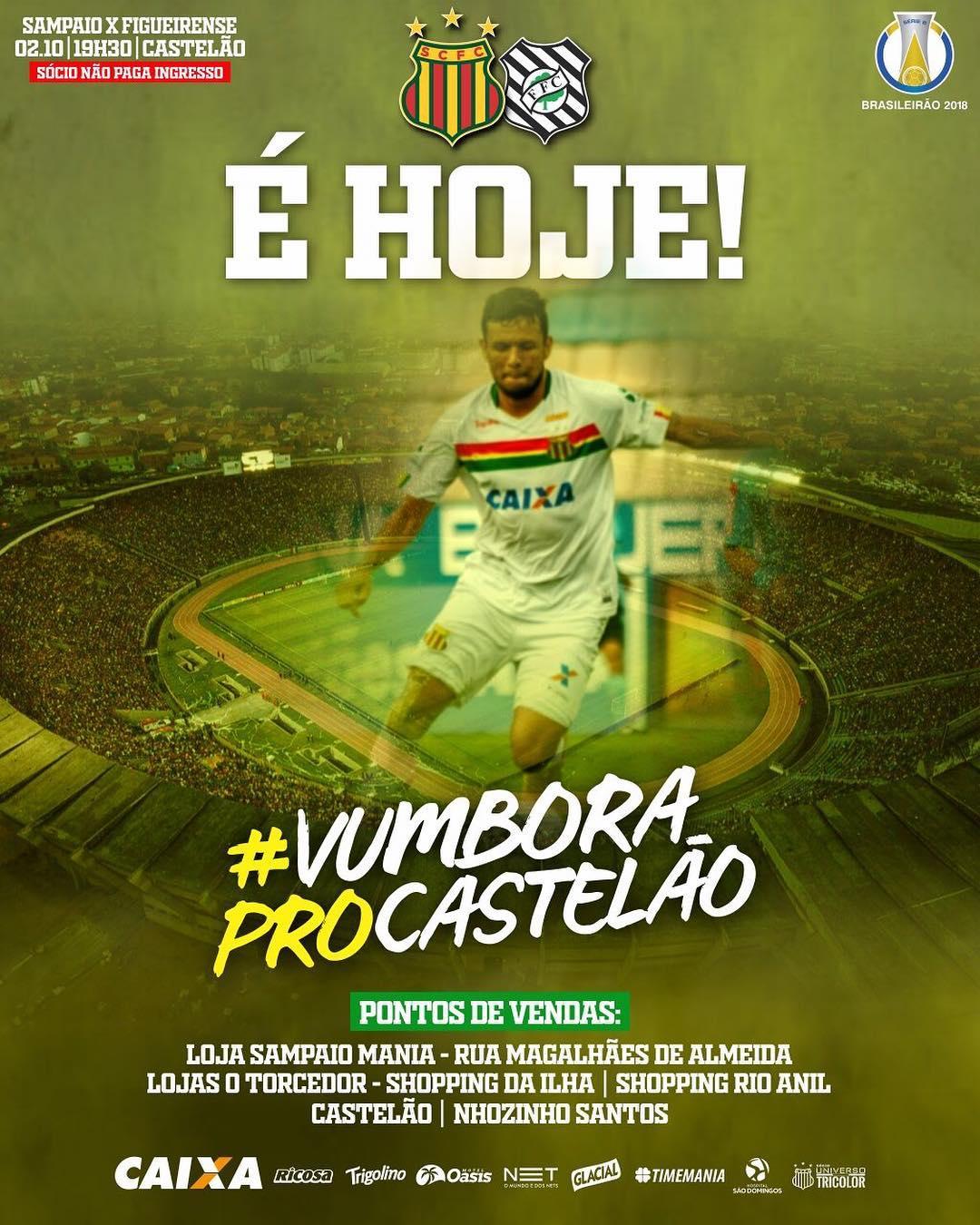 Sampaio Correa X Figueirense Saiba Como Assistir Ao Jogo Ao Vivo Online Torcedores Noticias Sobre Futebol Games E Outros Esportes