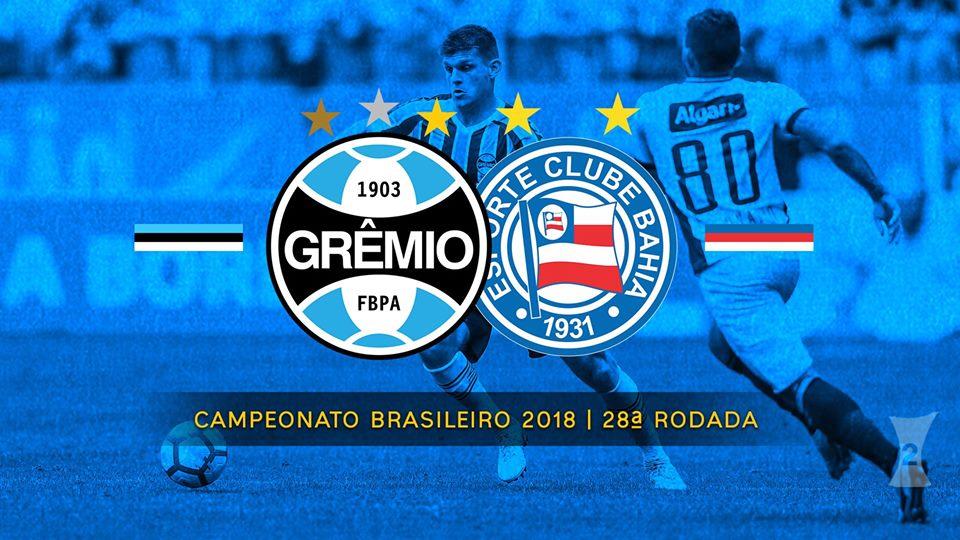 Grêmio x Bahia: saiba como assistir ao Brasileirão AO VIVO online