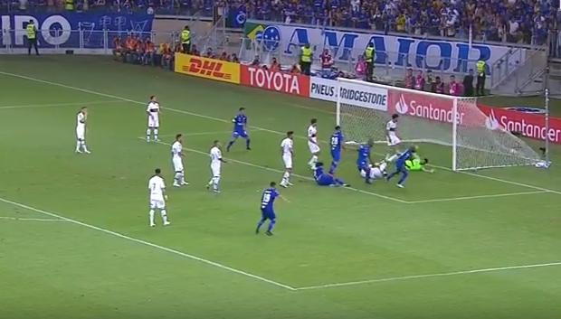 Cruzeiro x Boca Juniors gols