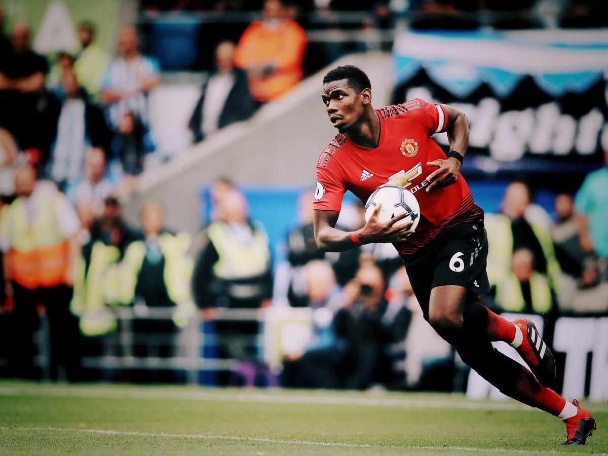 Pogba está de saída do Manchester United