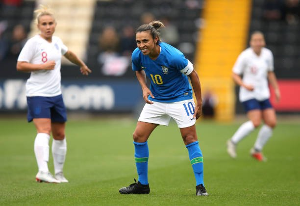 Brasil x Inglaterra Futebol Feminino
