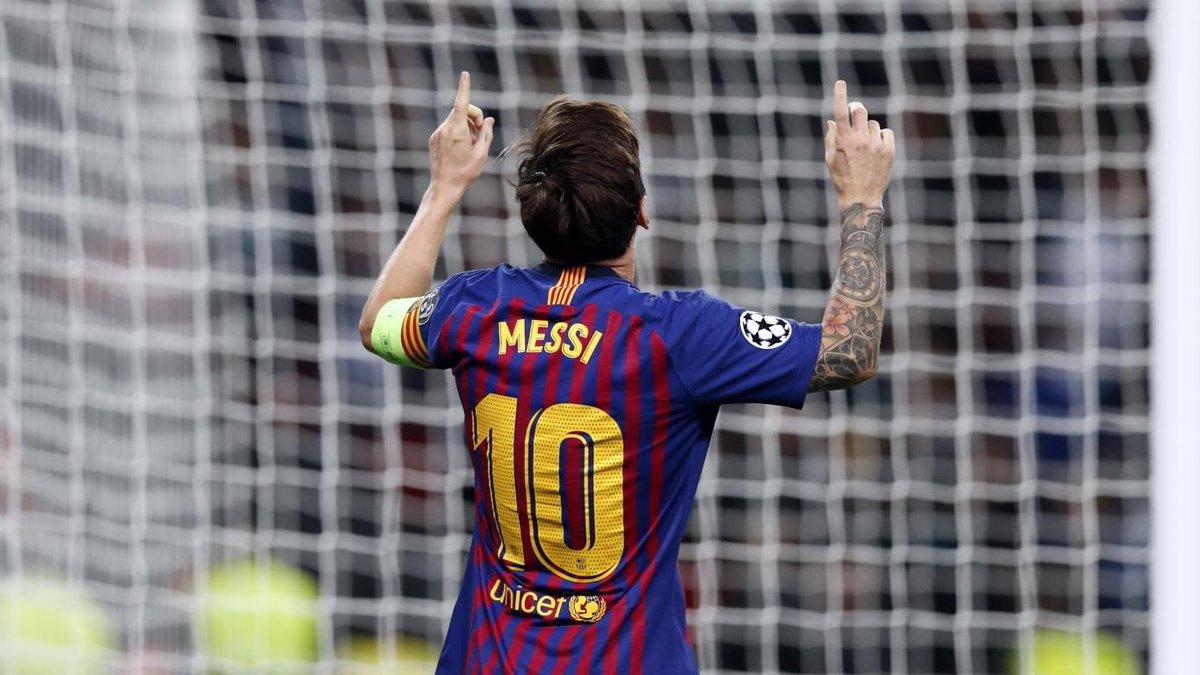 Messi pode ultrapassar recorde de Pelé nesta temporada.