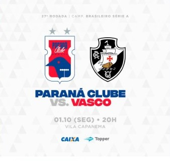 Paraná x Vasco