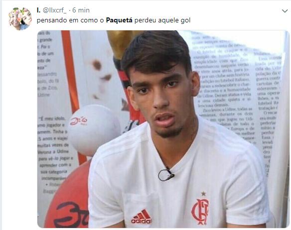 Flamengo x Palmeiras: gol perdido por Paquetá repercute na ...
