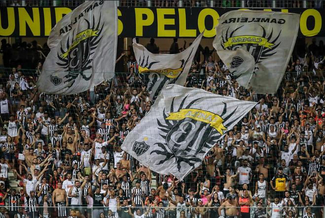 Atlético x Botafogo oitavas de final da Copa Sul-Americana Galo Independência Horto