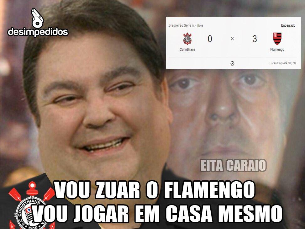 Corinthians Perde Para O Flamengo E Web Não Perdoa Veja Memes