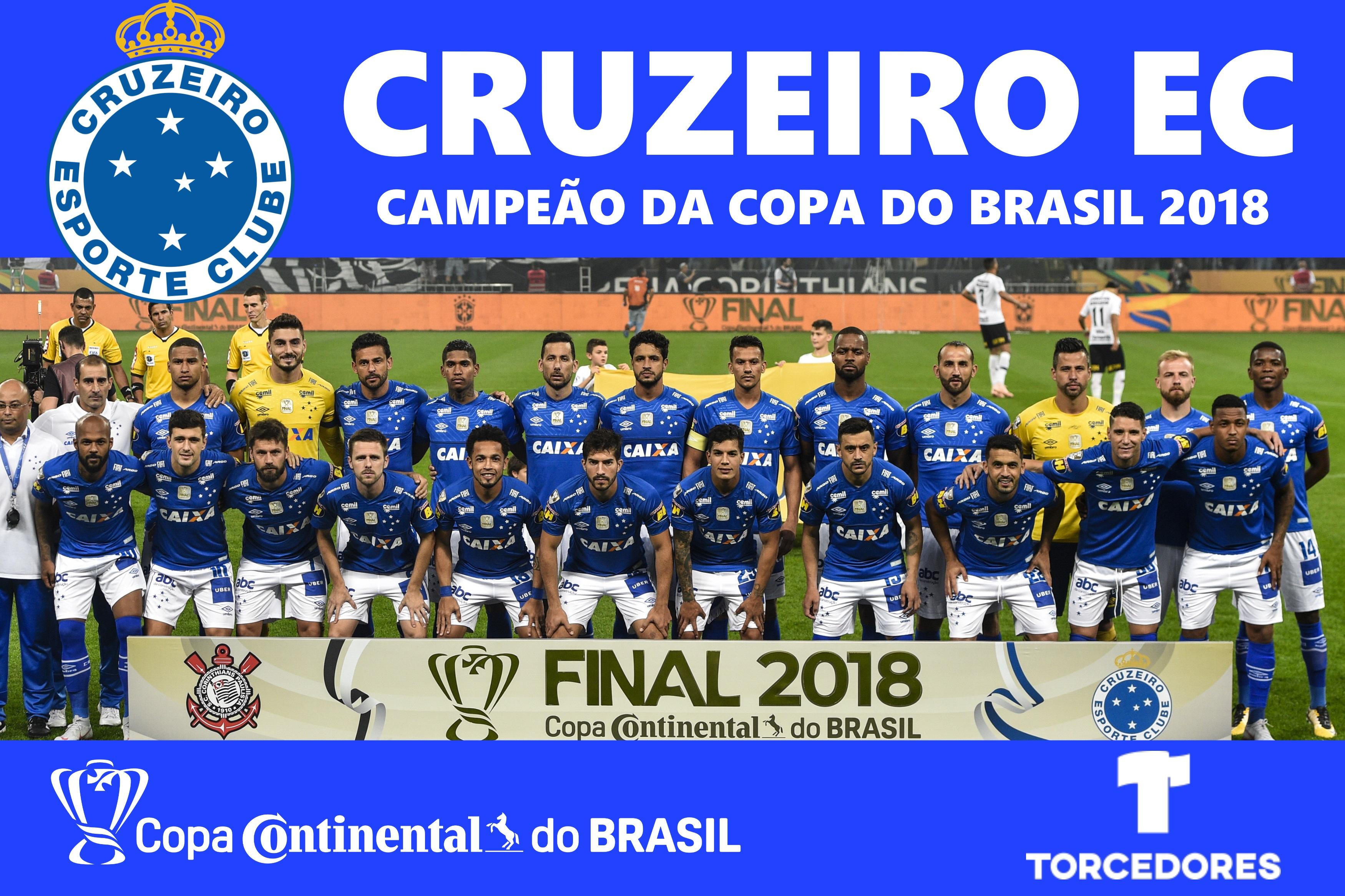 poster cruzeiro campeão copa do brasil