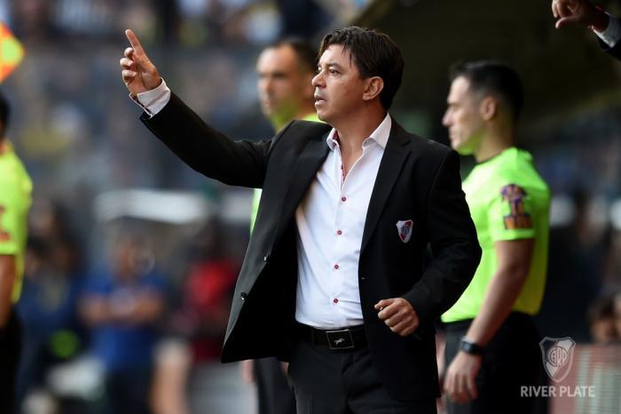 Marcelo Gallardo River Plate Grêmio