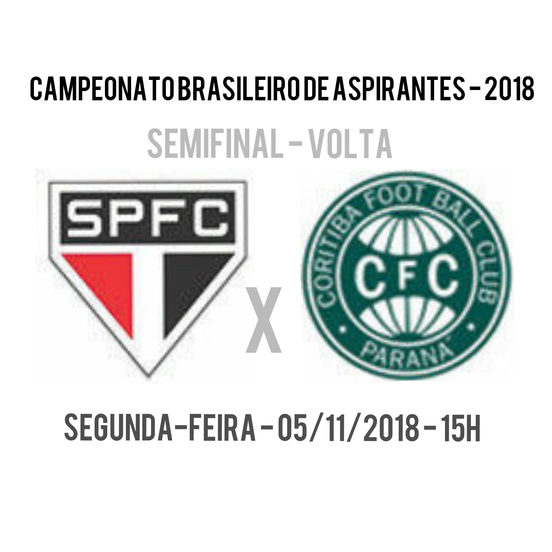São Paulo x Coritiba