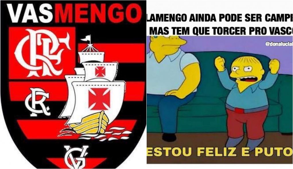Memes Flamengo é Zoado Por Ter Que Torcer Pro Vasco Vencer
