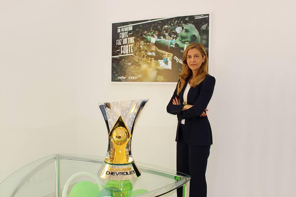 Leila Pereira, Palmeiras