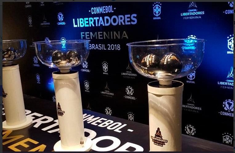 Sorteio Libertadores Feminina