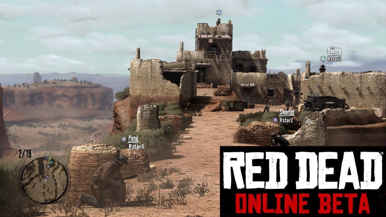 Red Dead Redemption 2 - Red Dead Online modo Battle Royale