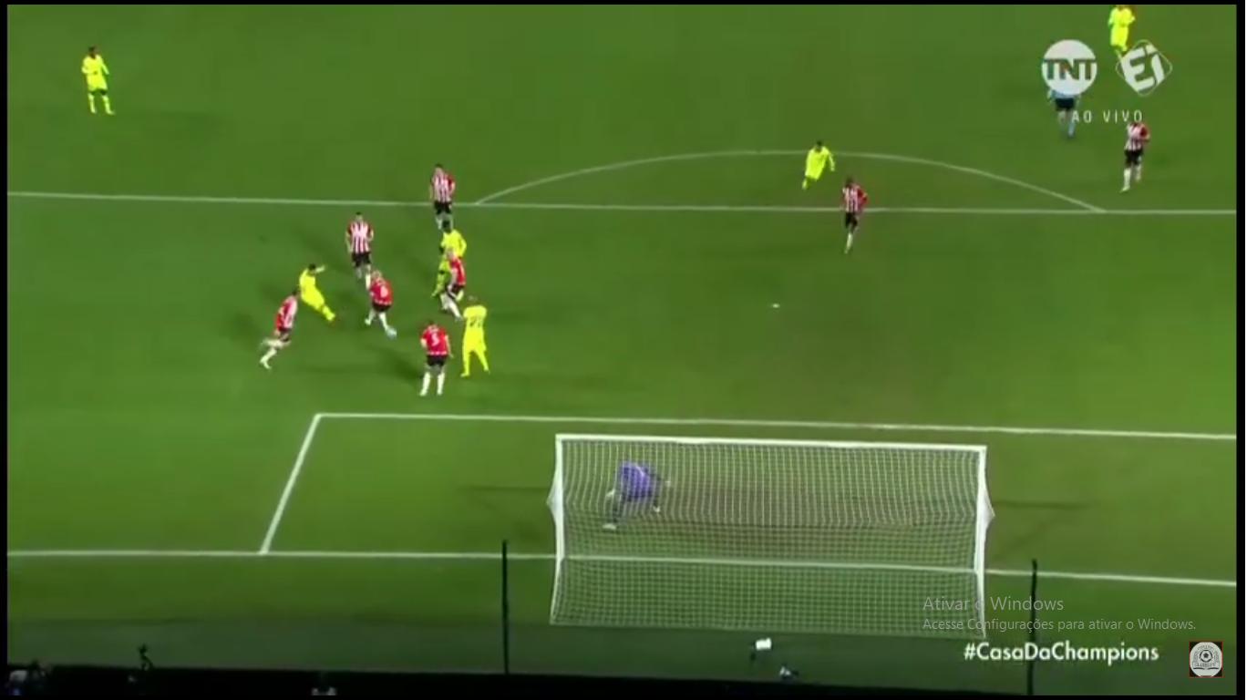 messi PSV x Barcelona