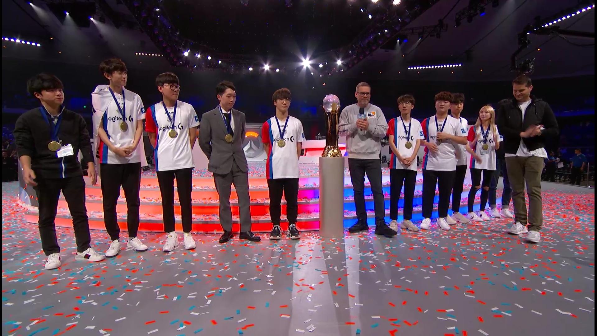 Coréia do Sul campeã da Copa do Mundo de 2018.