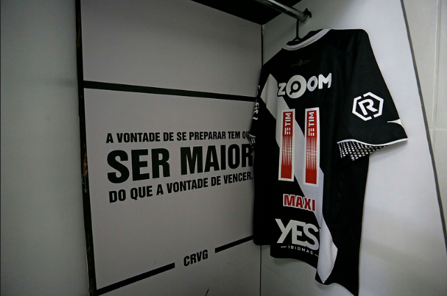 Vasco acertou dos patrocínios pontuais para jogo decisivo diante do Palmeiras, em São Januário.