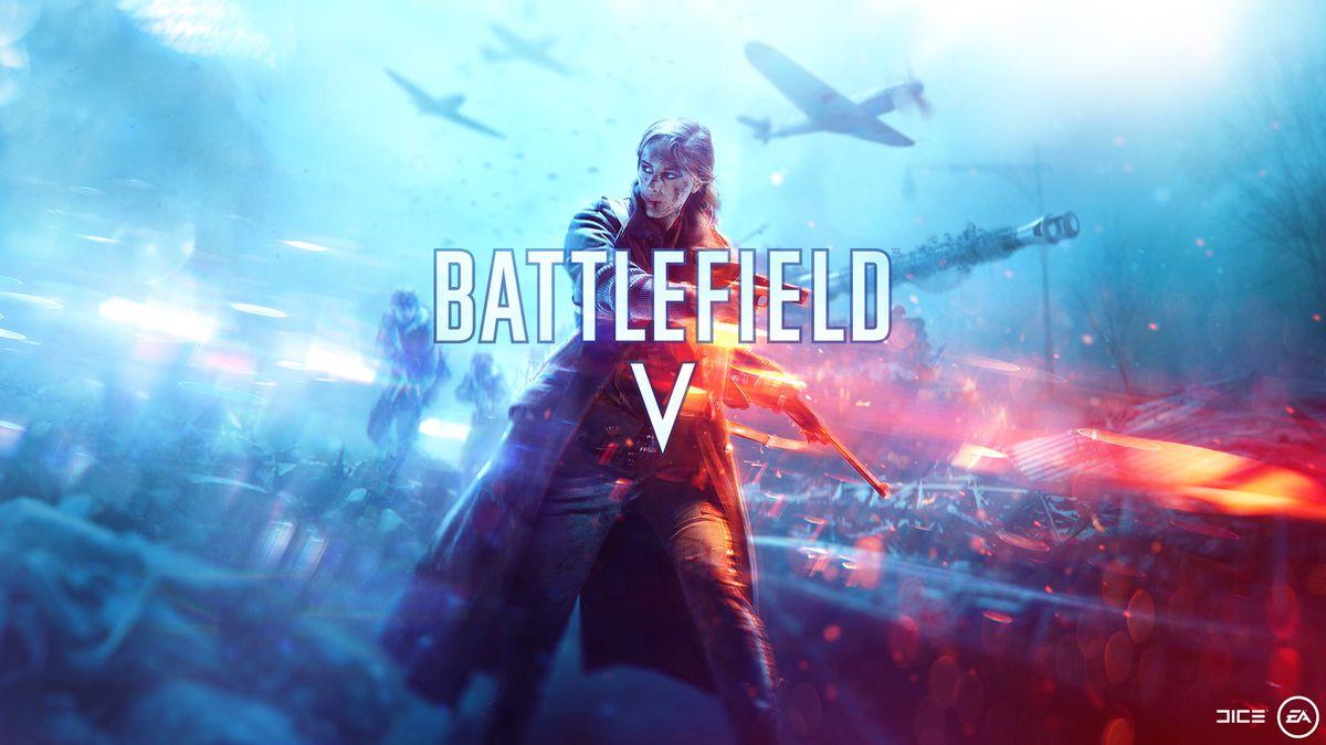 'Battlefield V' wallpaper girl vendas de Battlefield V