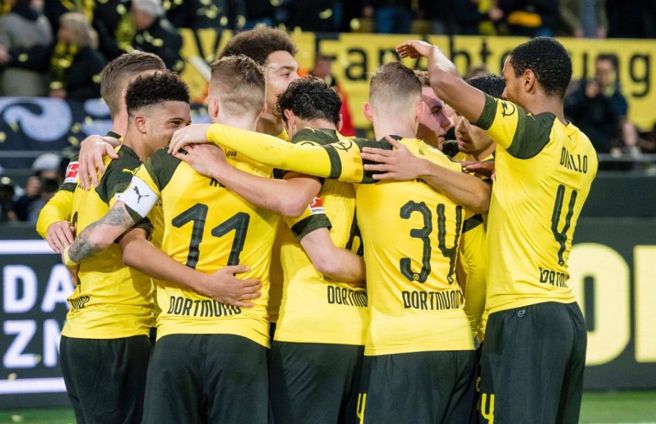 Dortmund quer a classificação na Liga dos Campeões