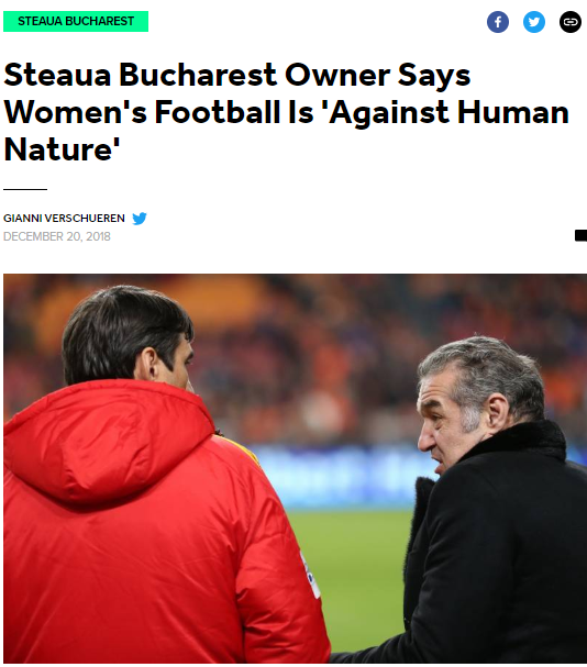 Steaua Bucarest futebol feminino